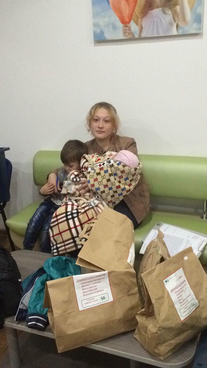 Анна, мать-одиночка, 2 детей