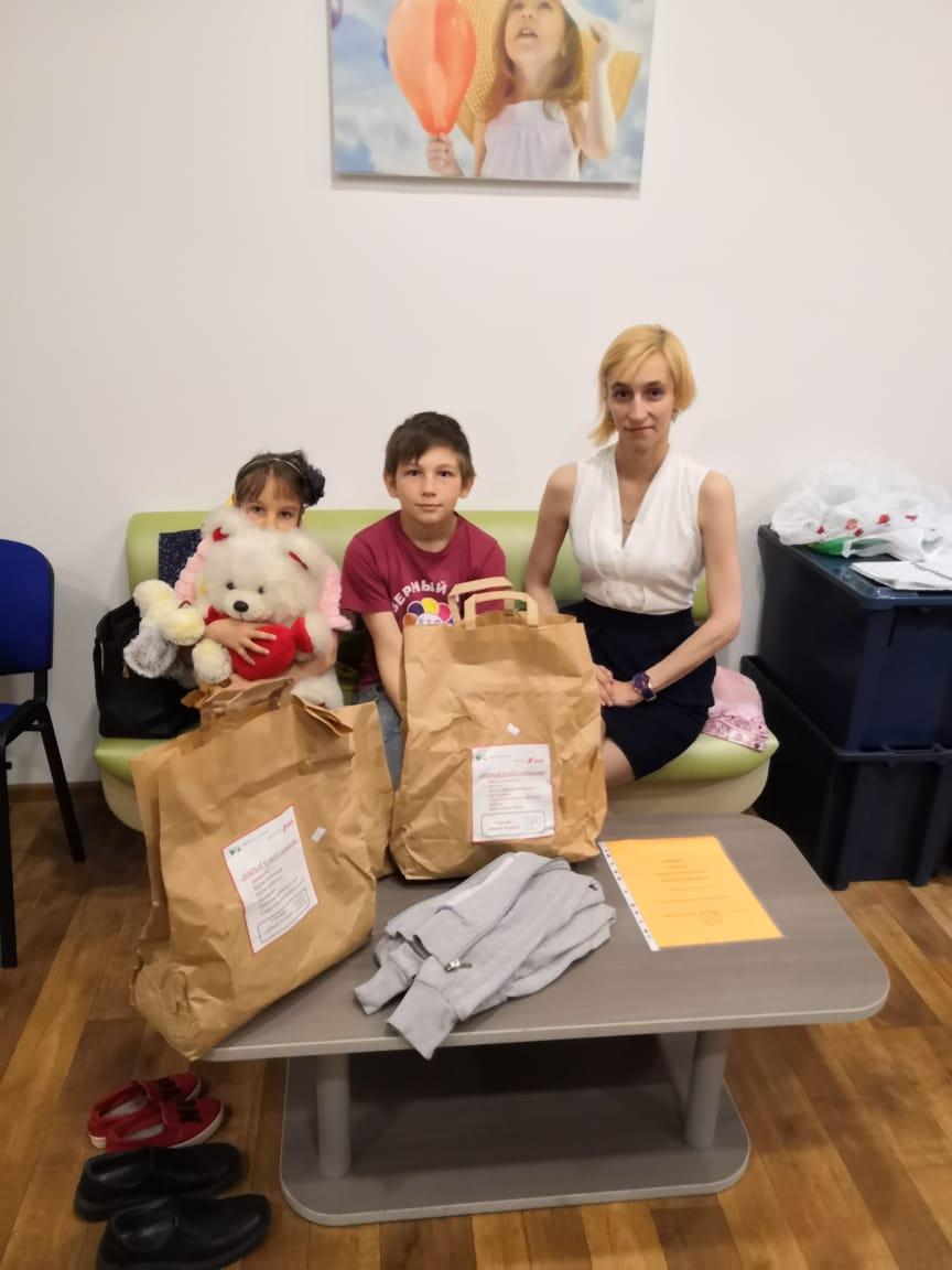 Татьяна, многодетная семья, 3 детей