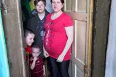 Альбина-многодетная-3-детей, ожидает четвертого ребенка