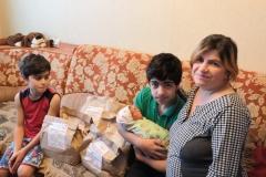 Аревик, многодетная мамочка 4 деток