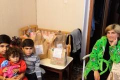 Аревик, многодетная семья, 3 ребенка, ожидает четвертого малыша