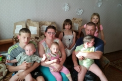 Богачевы, многодетная семья, 6 детей
