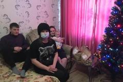 Даниил с супругой Светланой и сыном