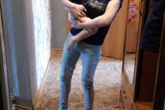 Дарья-многодетная мама