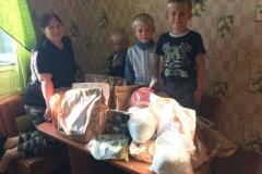 Евгения, многодетная семья, 6 детей (п. Ола)