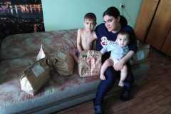 Инна-многодетная семья, трое детей