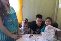 Катюша 3 деток