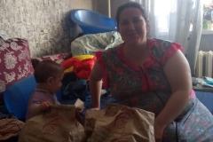 Людмила, малоимущая семья, 1 ребенок