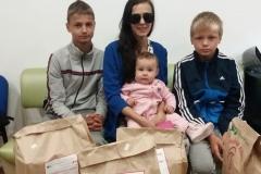 Антонина, многодетная семья, 4 детей