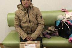 Оксана, малоимущая семья, 2 ребенка
