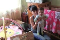 Яна, мать-одиночка, 1 ребенок