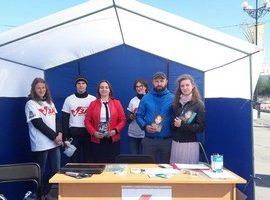 Православная молодежь приняла участие в фестивале «Территория молодых»