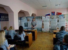 Выставка-лекция в защиту жизни нерожденных детей для сотрудников УФСИН