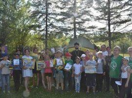 В детском православном лагере «Родник» прошел «Княжеский турнир»