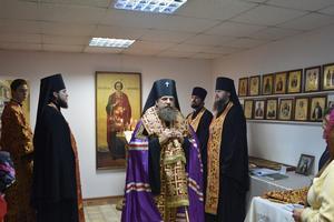 Молебен в часовне великомученика и целителя Пантелеимона в г. Магадане