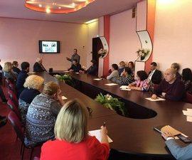 В Молодежном центре состоялся отчет о реализации проекта Магаданского епархиального гуманитарного Центра «Колыма — За Жизнь»