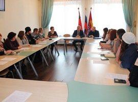 Представители Магаданской епархии приняли участие в заседании координационного молодежного совета города Магадана