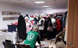 Очередная благотворительная акция по обеспечению гуманитарной помощью нуждающихся проведена Епархиальным гуманитарным центром «Колыма – За Жизнь»