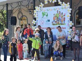 В городском парке Магадана прошел праздник для детей и родителей «Многодетный Магадан»