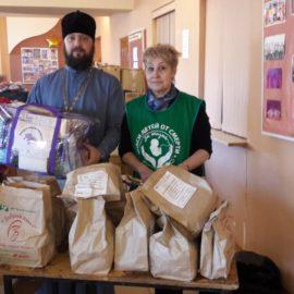 Сотрудники и волонтеры движения «Колыма — За Жизнь» провели благотворительное мероприятие в п. Ола
