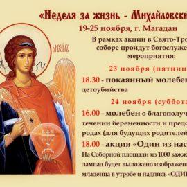 Неделя за Жизнь — Михайловские дни