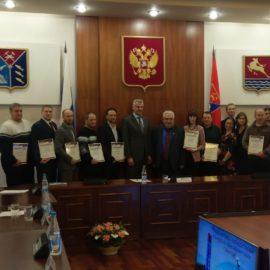 Встреча победителей конкурса фонда президентских грантов 2018 года с губернатором МО Носовым С.К.
