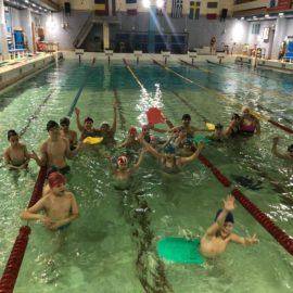 Благотворительное посещение бассейна «Колымский»